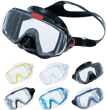 Tusa - M-31 Visio Tri-Ex Dive Mask - Scuba, Snorkel - Ultra Wide viewing angle